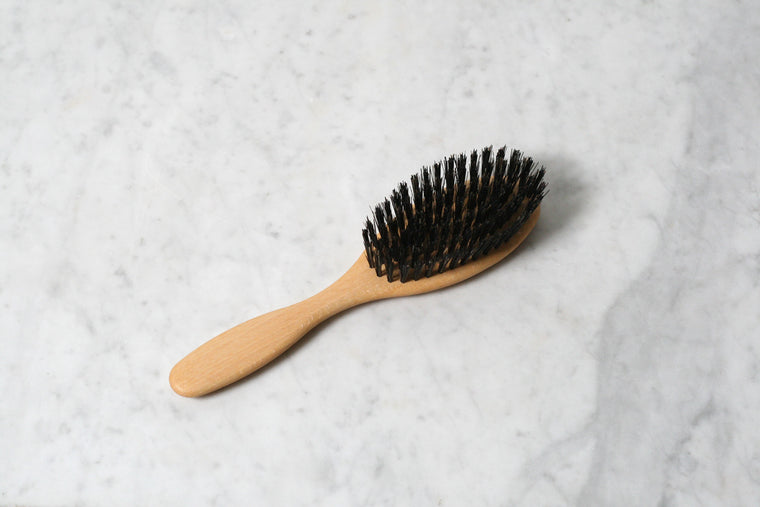 Beechwood Boar Bristle Hairbrush