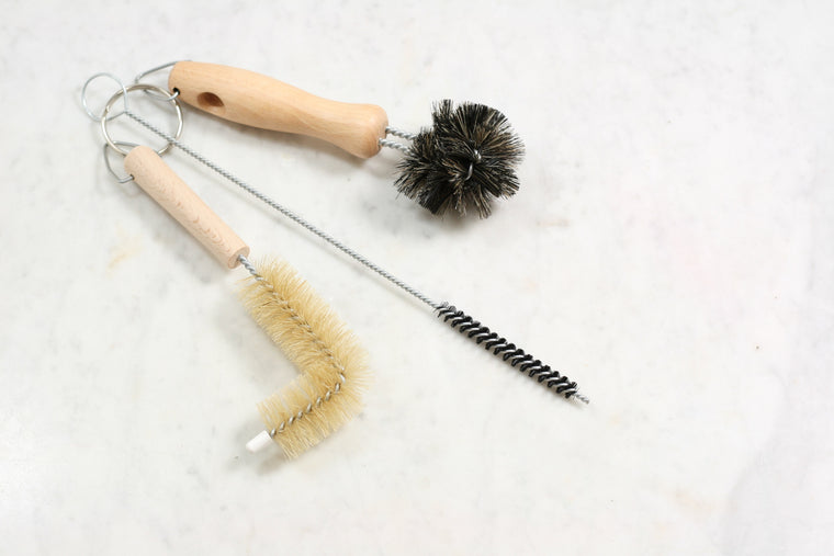 Wash Basin Brush Set