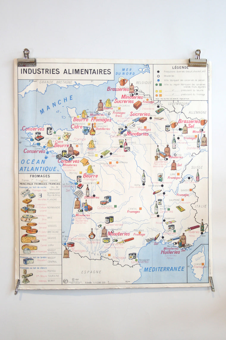 Vintage French School Poster