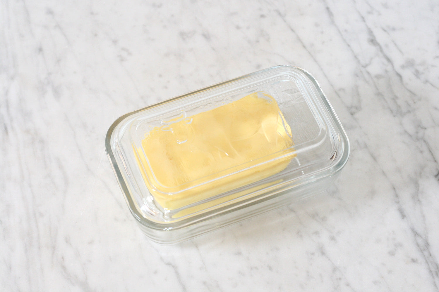 Classic French Cow Butter Dish