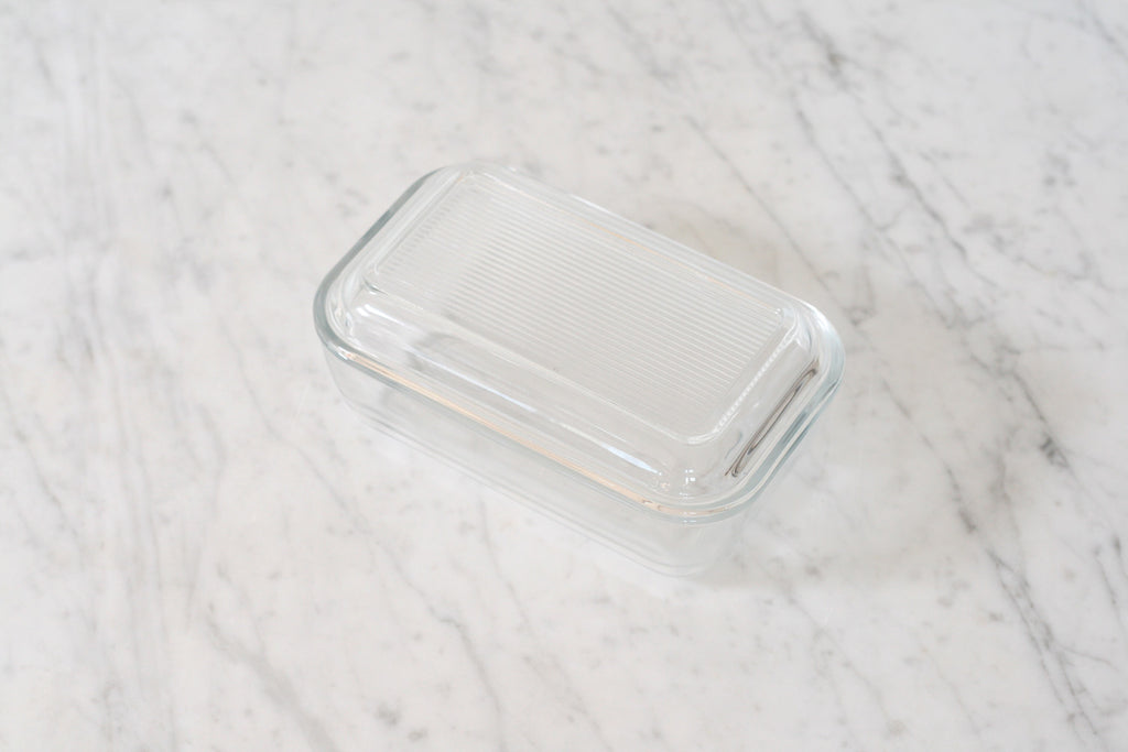 Luminarc Classic French Glass Butter Dish