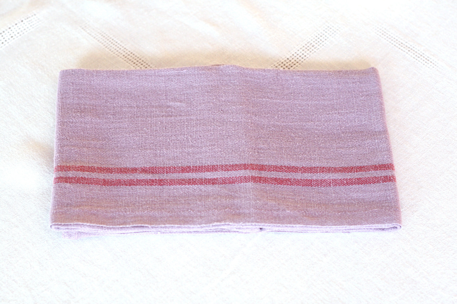 Charvet Editions Striped Linen Dish Towel