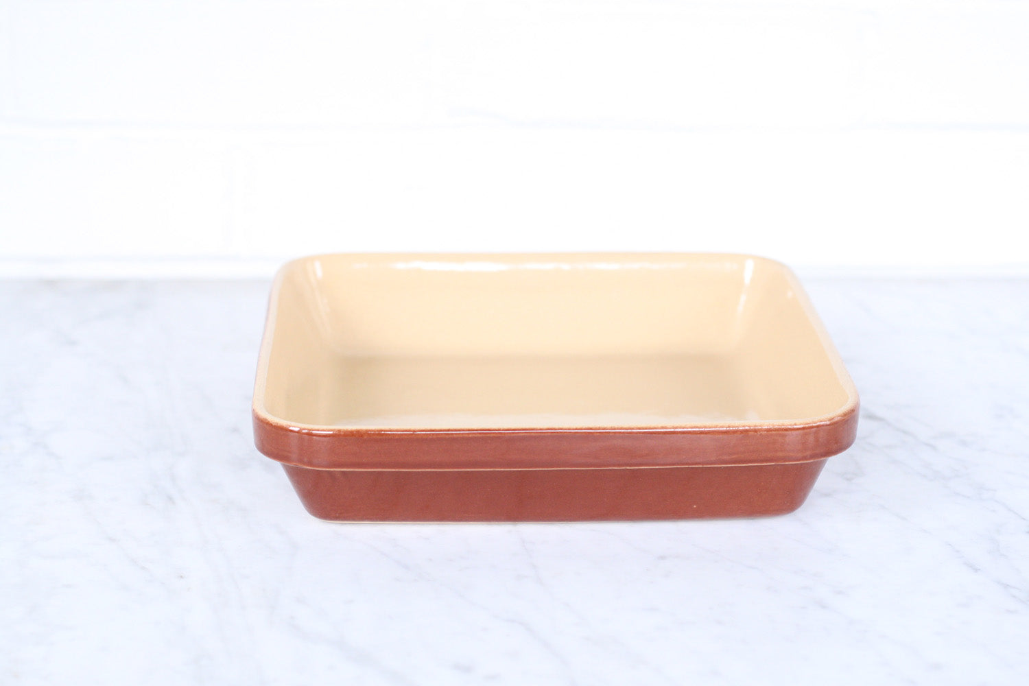 Poterie Renault Stoneware Square Baking Dish