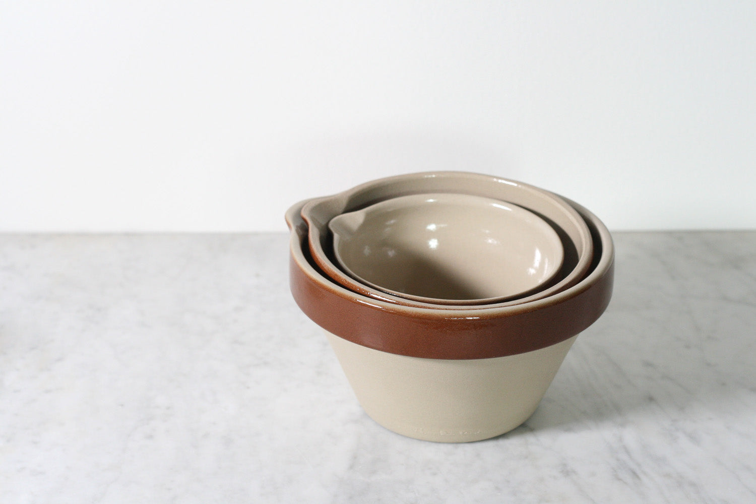 Poterie Renault Mixing Bowls