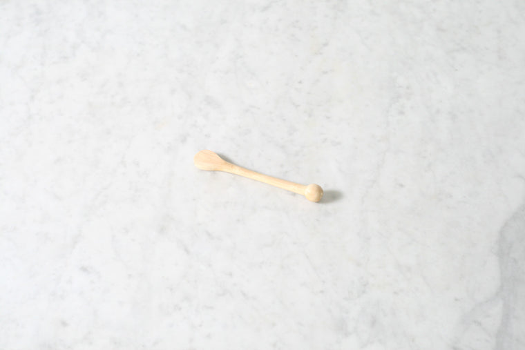French Beechwood Mustard Spoon