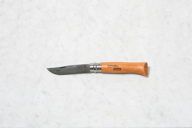 Opinel No. 8 Folding Knife Carbon Steel