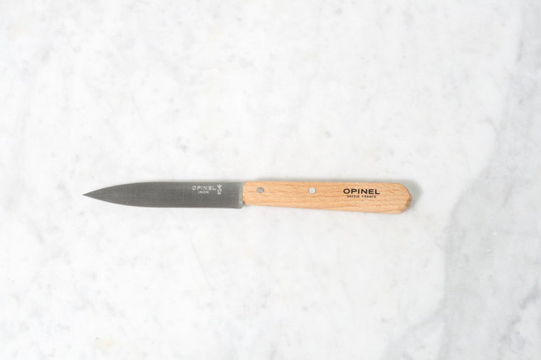 Opinel No 112 Paring Knife, Natural