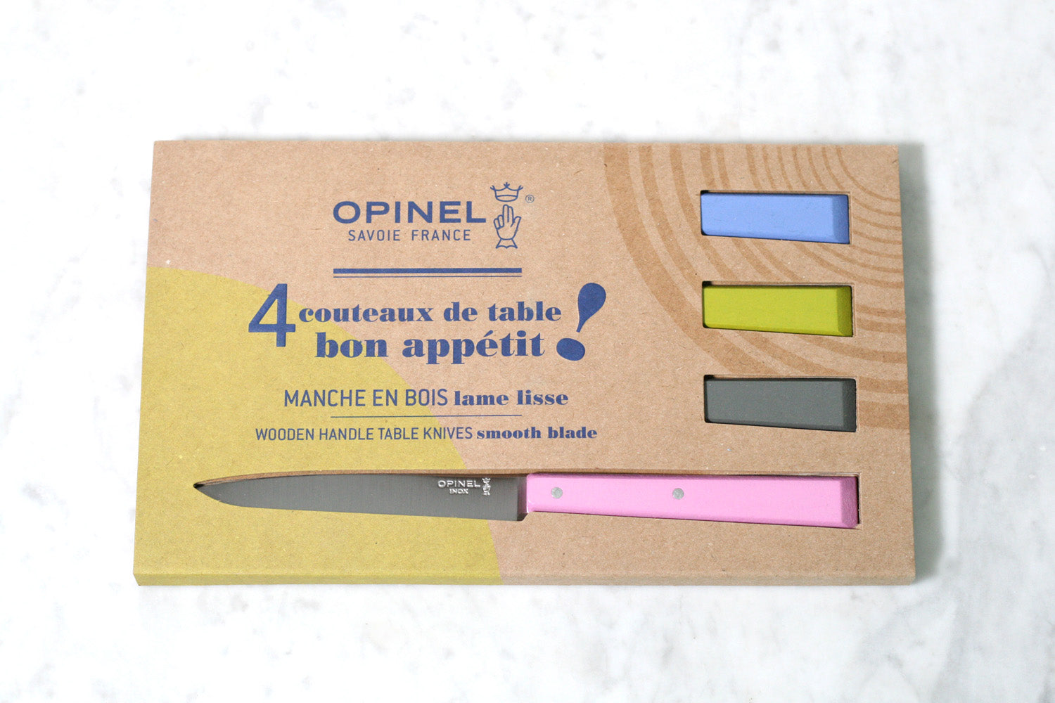 Opinel N°125 Bon Appetit Table Knives Steak Knives Countryside