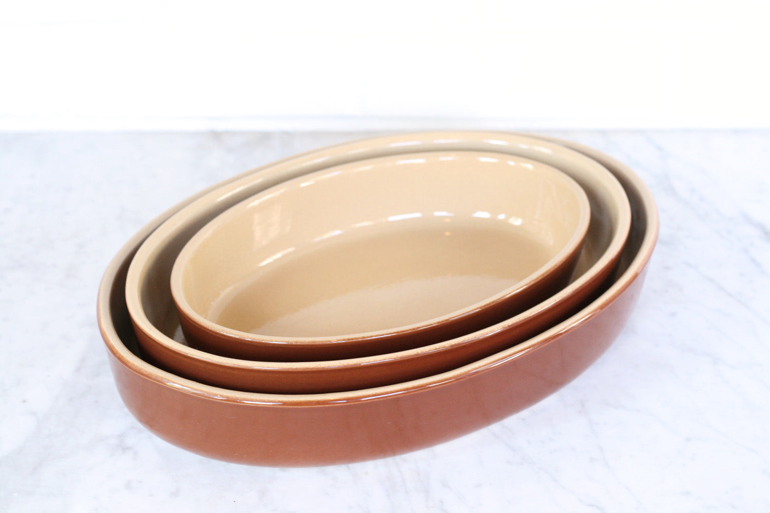 Poterie Renault Oval Baking Dish