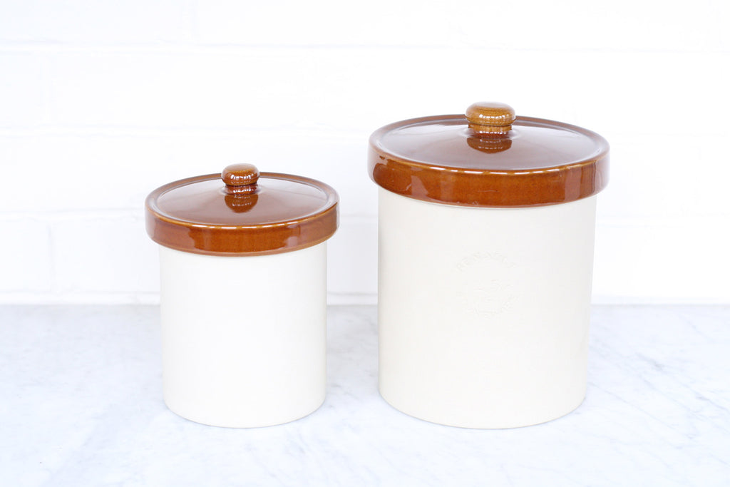 Poterie Renault Small Stoneware Canister