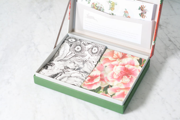 Pepin Letter Writing Set, Flower Prints