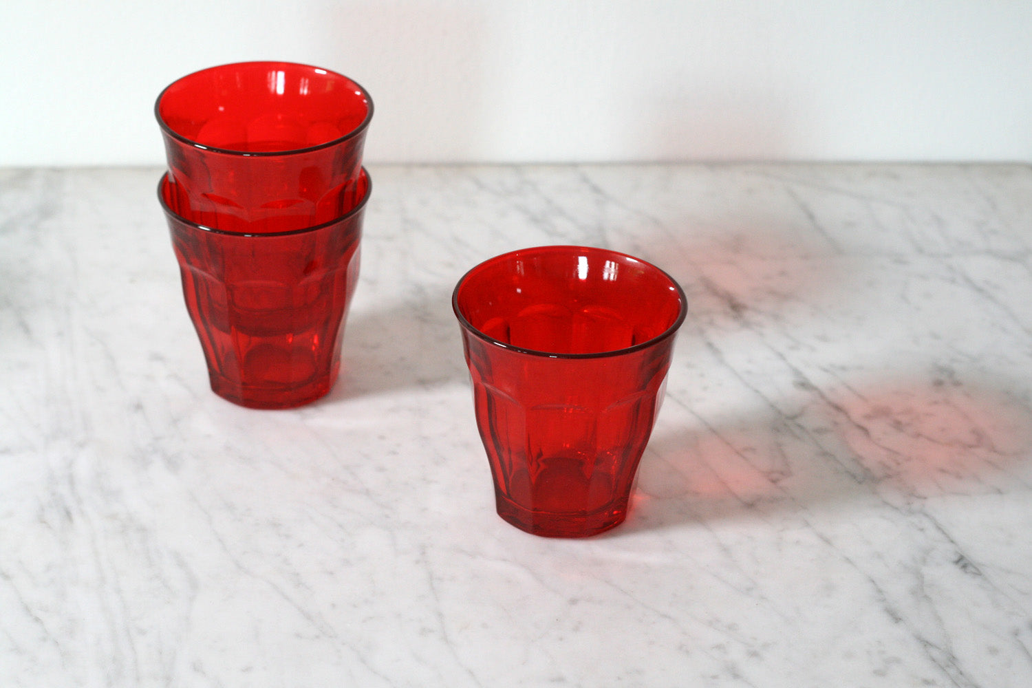 Duralex 'Picardie' Colors Tumbler Red