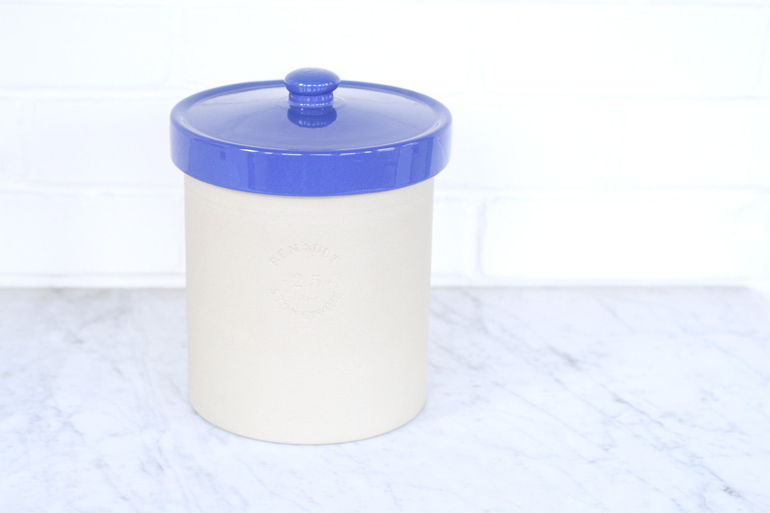 Poterie Renault Stoneware Canister