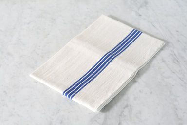 Primary Stripe Dish Towel. Made in France.