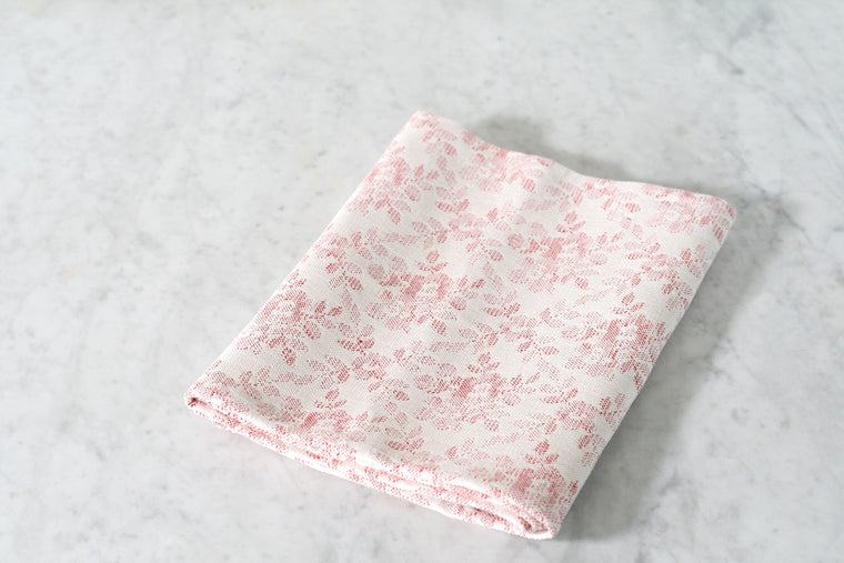 Rose Damask Dish Towel