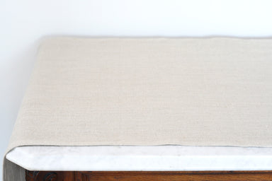 Linen Table Runner in Gris de Lin