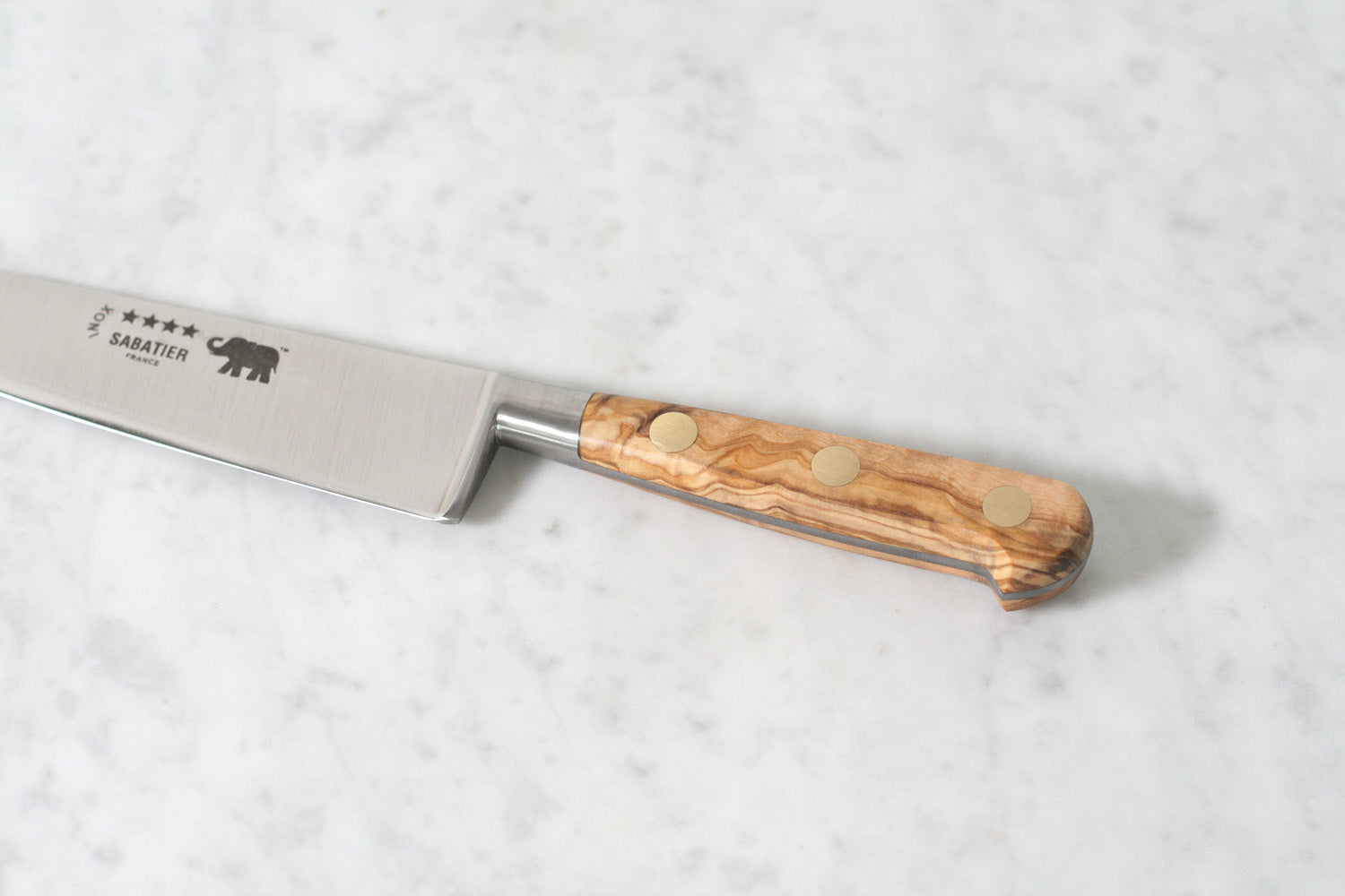 Sabatier 6 in Olivewood Inox Close