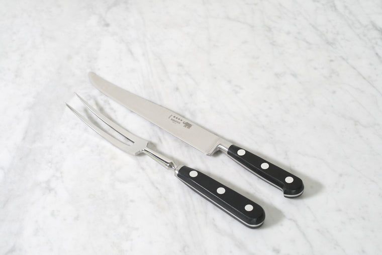 Sabatier Carving Set Stainless Steel