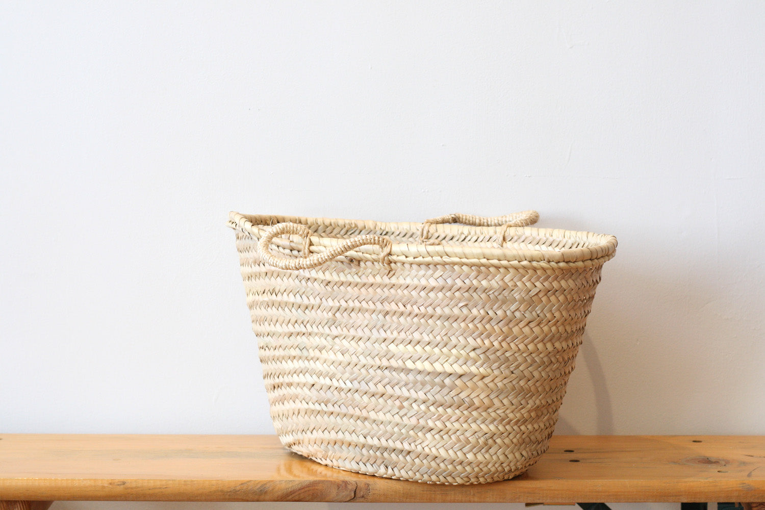 Sisal Handled French Market Basket