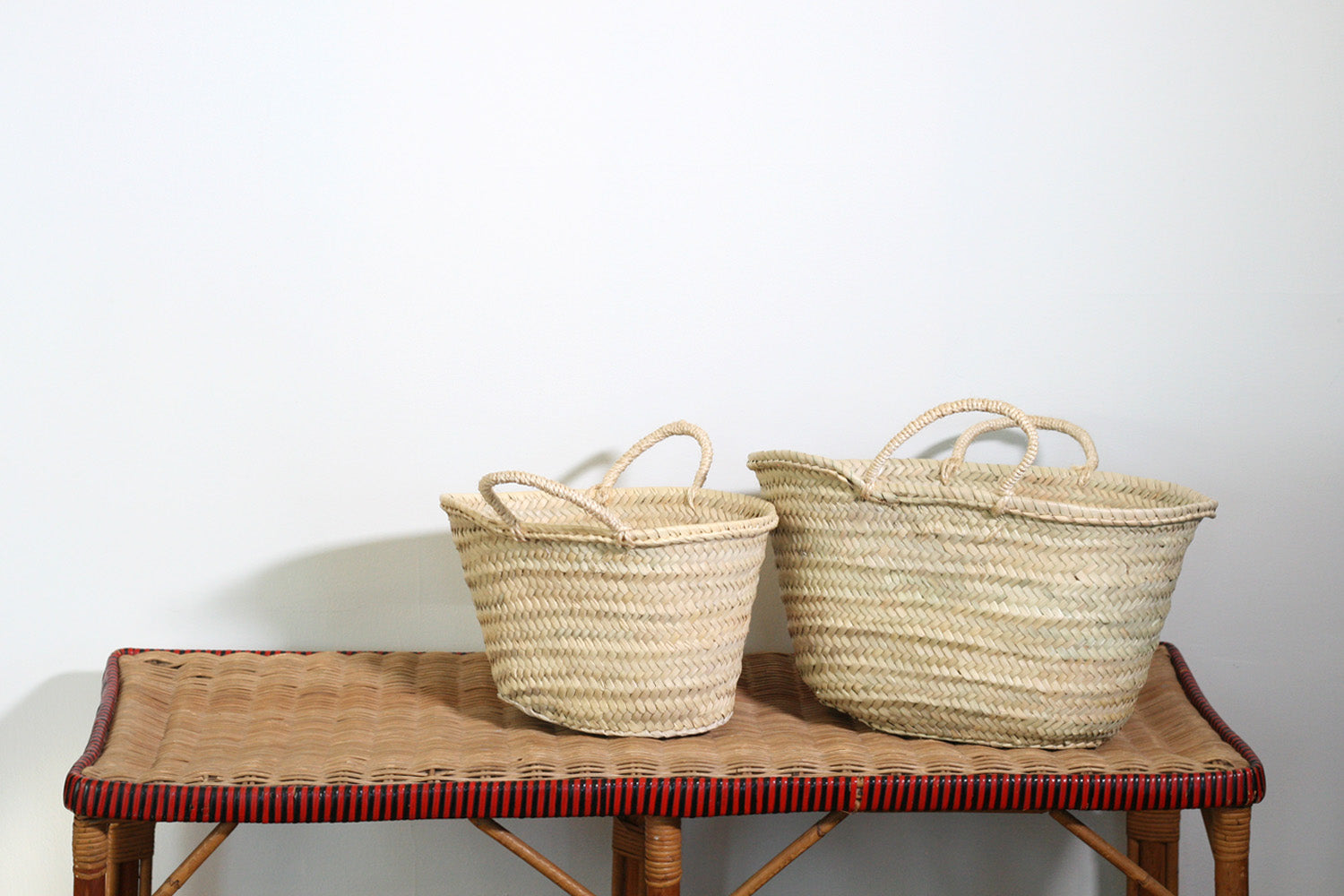Petite Sisal Handled French Market Basket