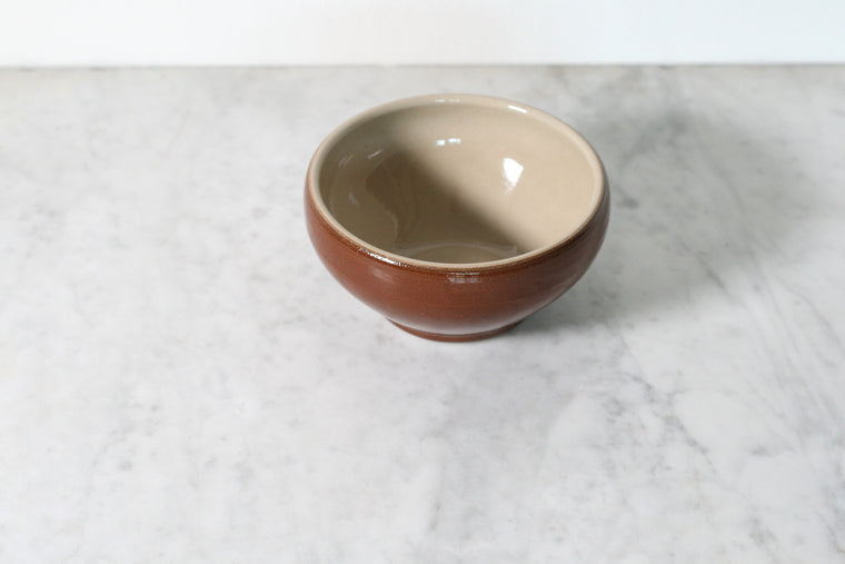 Small French Stoneware Bowl