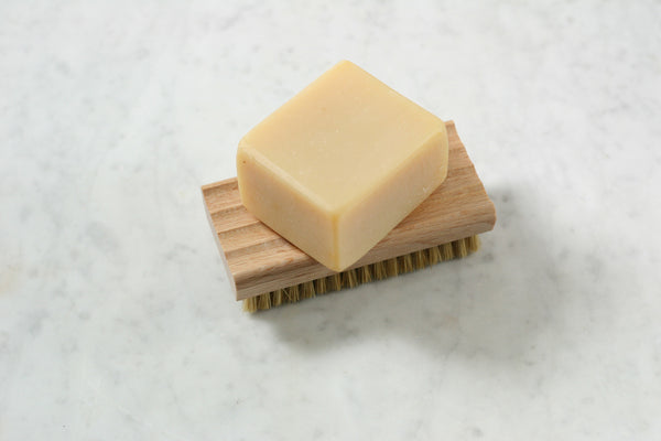 Soap Dish With Brush Flotsam And Fork