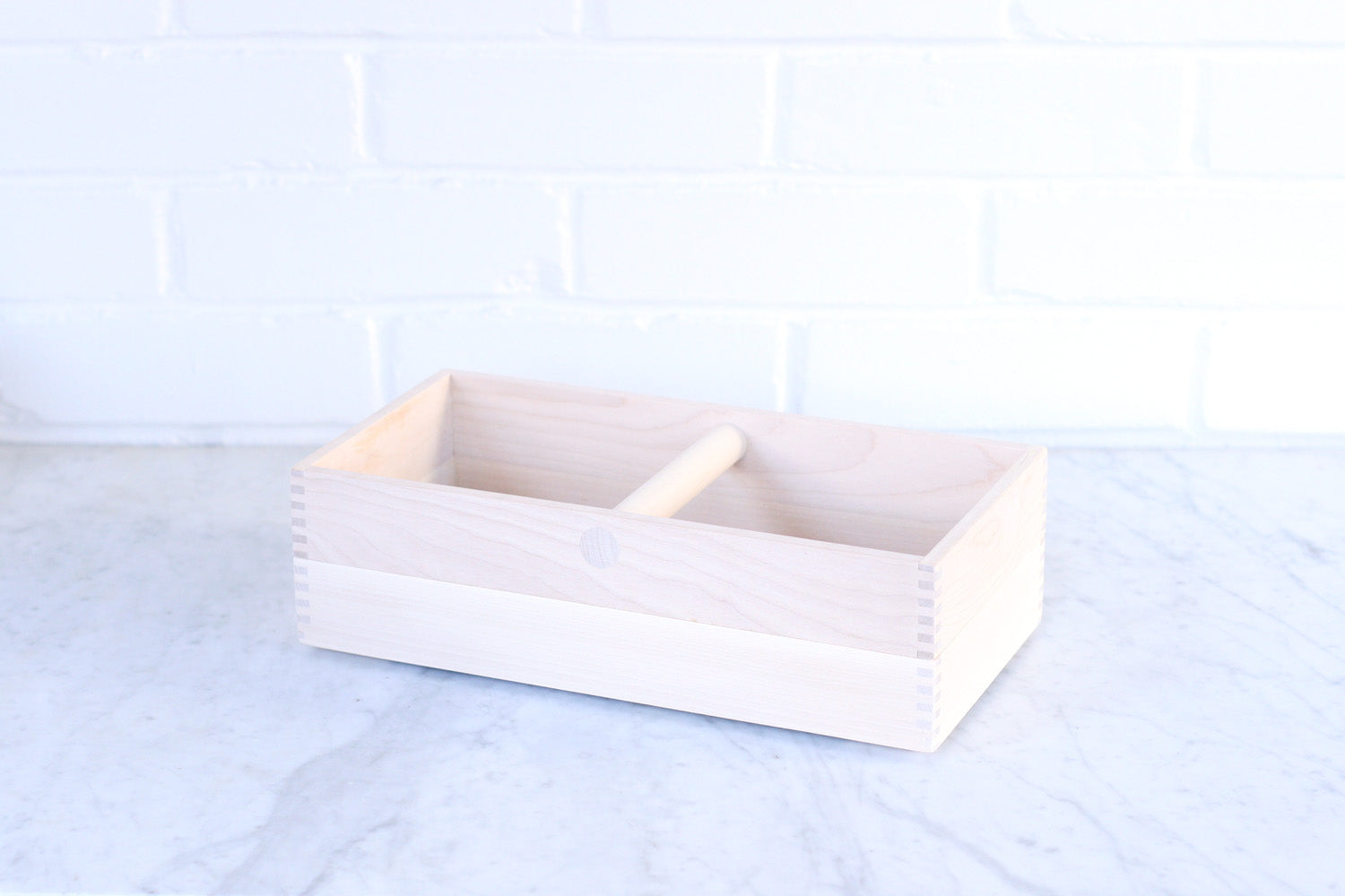 Iris Hantverk Birch Storage Box with Handle