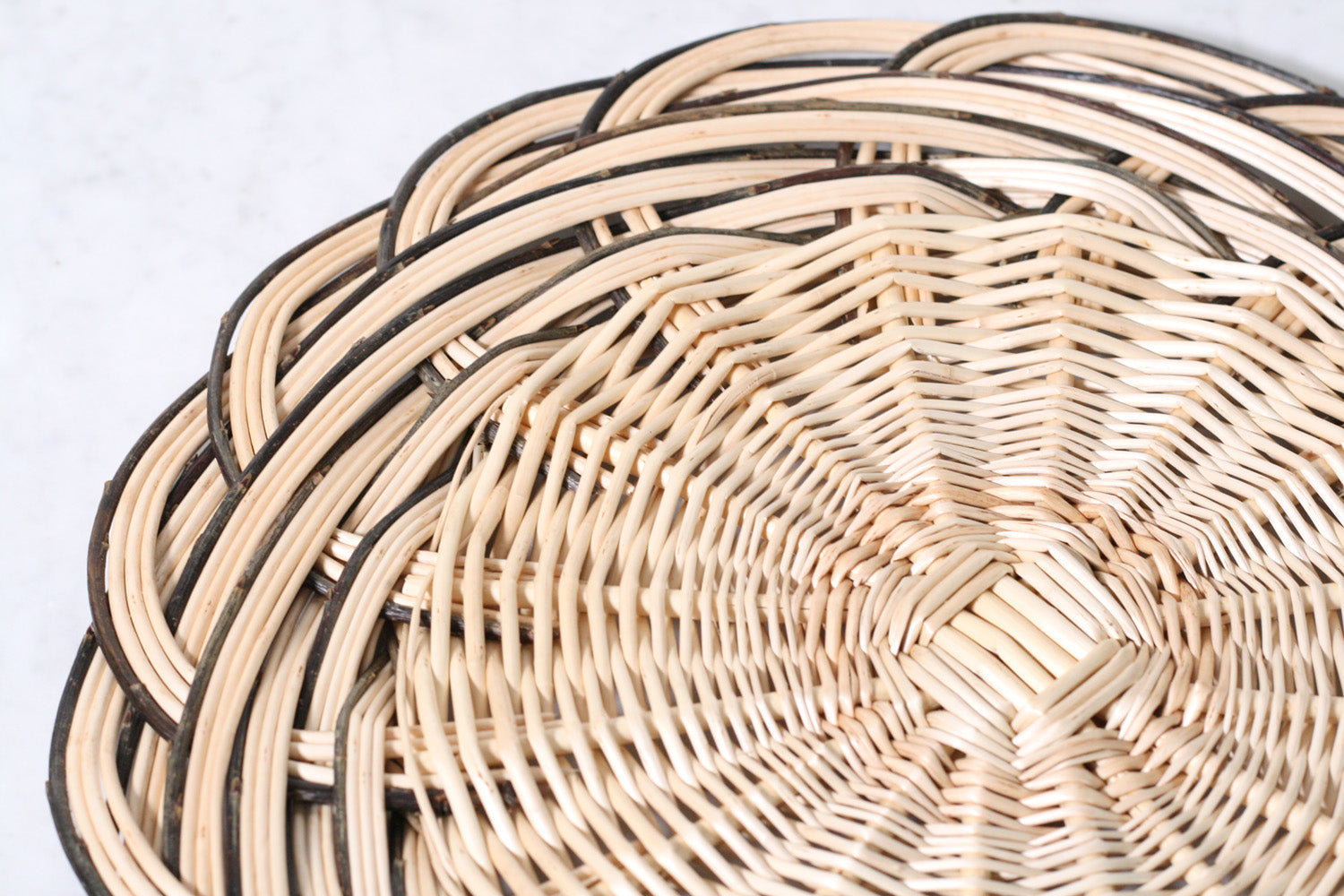 French Wicker Trivet