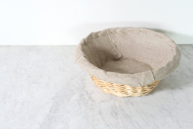 French Wicker Proofing Basket