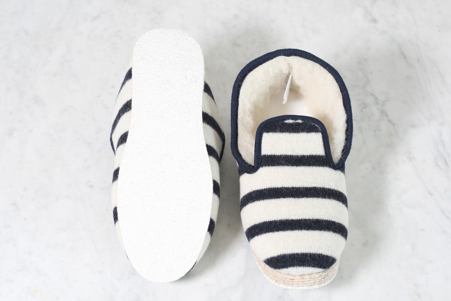 Armor-Lux Wool Slippers