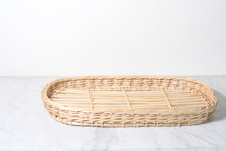 French Wicker Tray