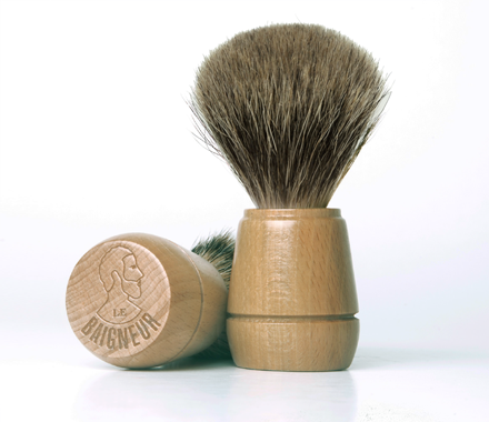 Le Baigneur Shaving Soap No. 2 with Bowl & Brush