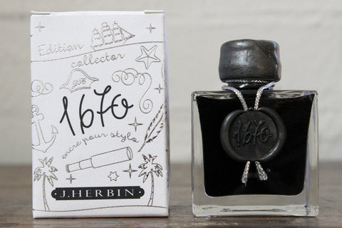J. Herbin 1670 Ink - Stormy Grey