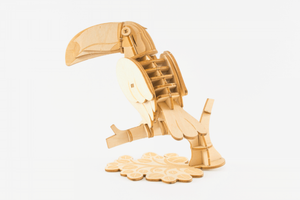 Ki-gu-mi Plywood Puzzle - Toucan Bird