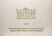 Oblation Pocket Journal