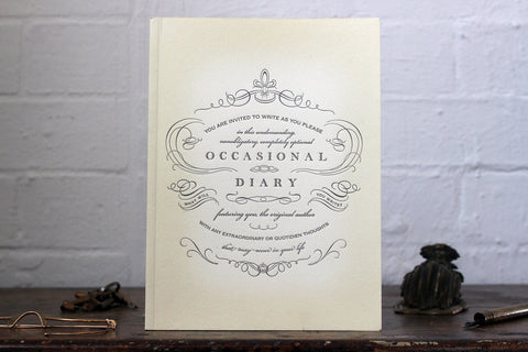 Oblation Journal - Occasional Diary