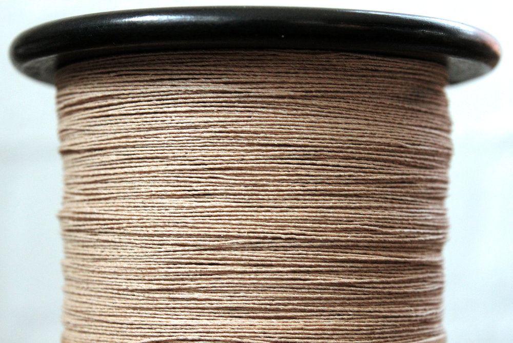 Paperphine Paper twine on Recycled Silk Bobbin - Natural