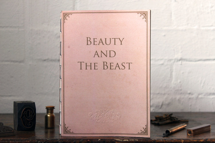 Slow Design Libri Muti Notebook - Beauty and the Beast