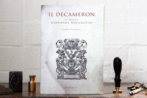 Slow Design Libri Muti Notebook - Il Decameron