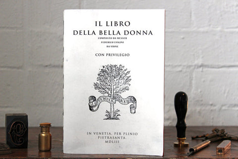 Slow Design Libri Muti Notebook - Il Libro Della Bella Donna