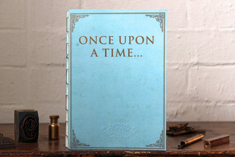 Slow Design Libri Muti Notebook - Once Upon a Time...