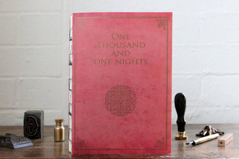 Slow Design Libri Muti Notebook - One Thousand and One Nights