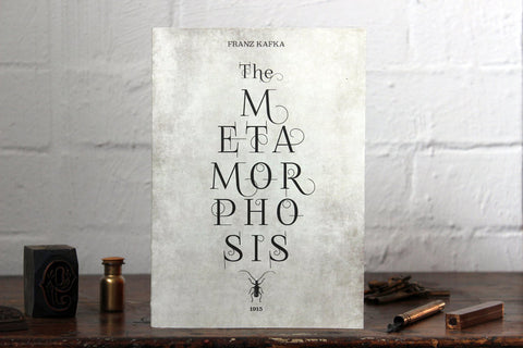 Slow Design Libri Muti Notebook - The Metamorphosis