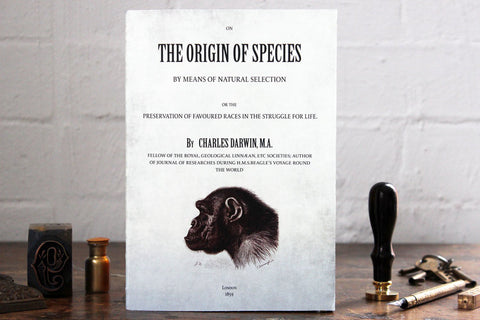 Slow Design Libri Muti Notebook - The Origin of Species