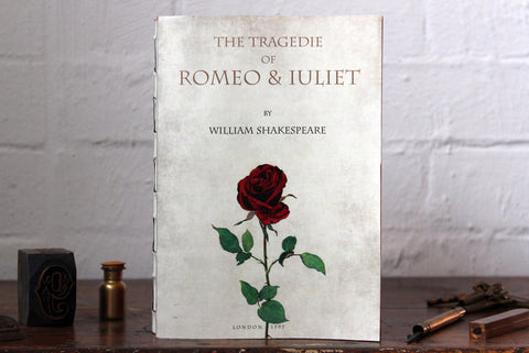 Slow Design Libri Muti Notebook - The Tragedie of Romeo & Juliet