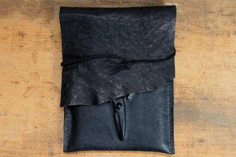 Slow Design Leather - Scissors Pochette