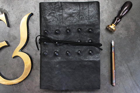 Slow Design Leather - Tattoo Notebook