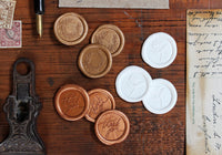 Stamptitude Self-Adhesive Wax Seal - Wreath