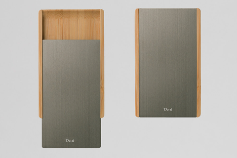 TA+d Card Case - Grey