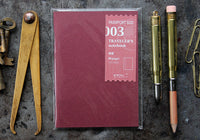 Traveler's Company Passport Notebook Refill - 003 Blank